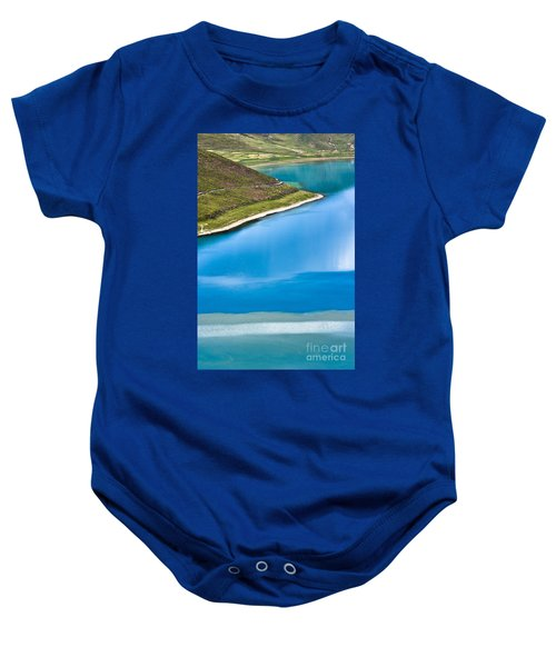 Turquoise Water Baby Onesie