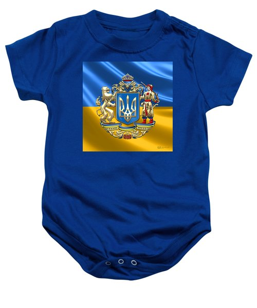 Ukraine - Greater Coat Of Arms  Baby Onesie