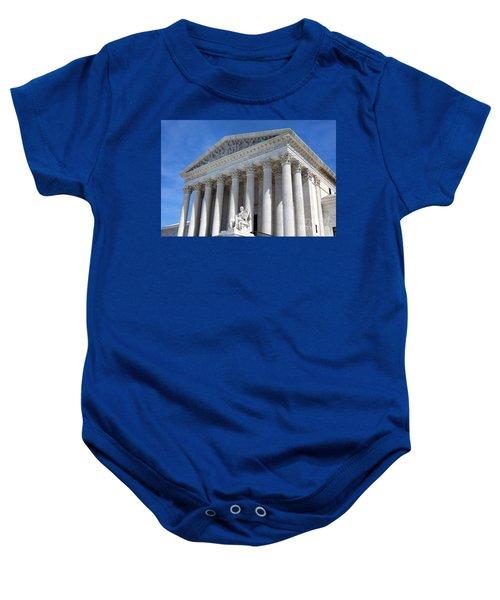 United States Supreme Court Building Baby Onesie