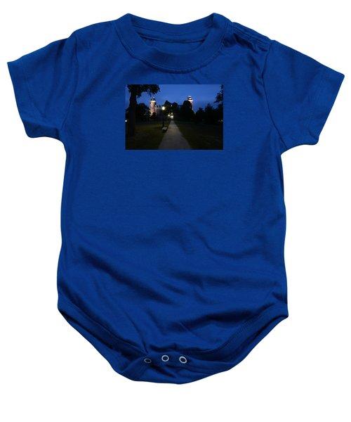 University Of Arkansas Baby Onesie by Chris  Look