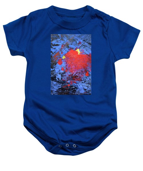 Untitled Abstract-7-817 Baby Onesie