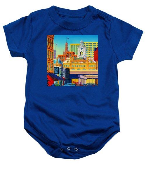 Urban Fugue Baby Onesie