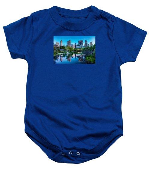Urban Oasis Baby Onesie by Az Jackson