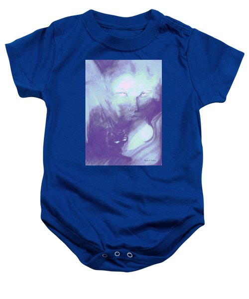 Visions Of The Night Baby Onesie