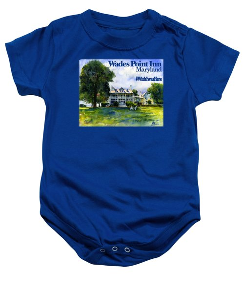 Wades Point Inn Shirt Baby Onesie