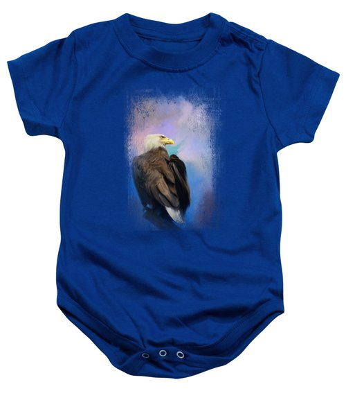 Watching Over The Heavens Baby Onesie