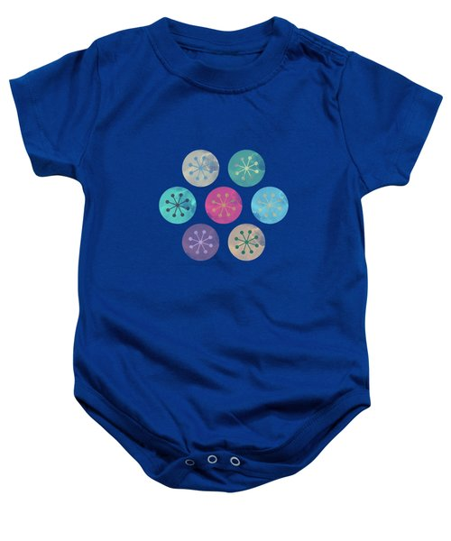 Watercolor Lovely Pattern Baby Onesie