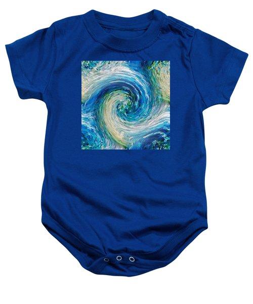 Wave To Van Gogh II Baby Onesie