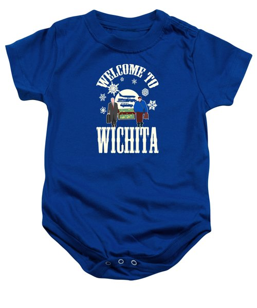 Welcome To Wichita  Baby Onesie