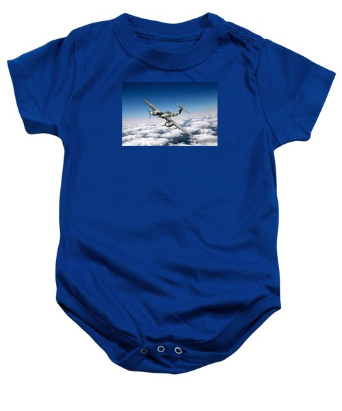 Baby Onesie featuring the photograph Westland Whirlwind Portrait by Gary Eason