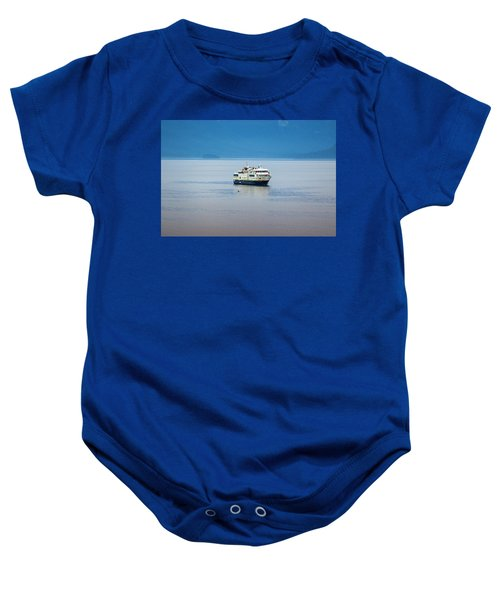 Whale Watching In Glacier Bay Baby Onesie
