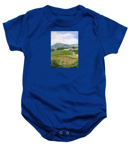 Wine Country Baby Onesie