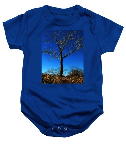 Winter Tree Baby Onesie