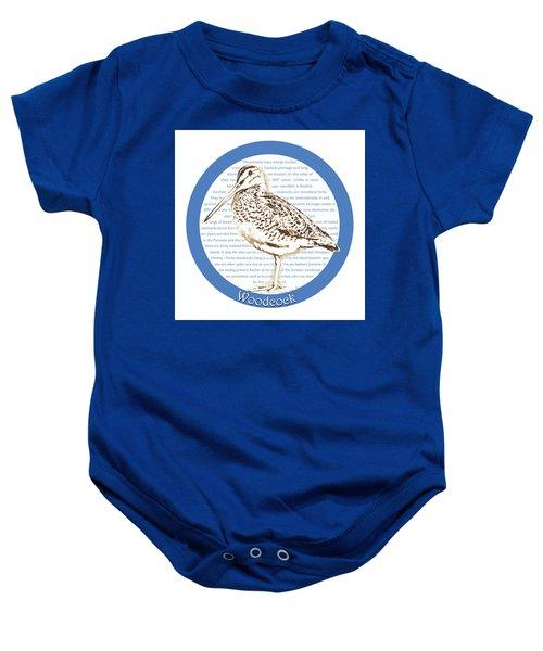 Woodcock Baby Onesie