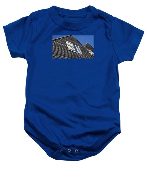 Baby Onesie featuring the photograph Wooden by Pedro Fernandez