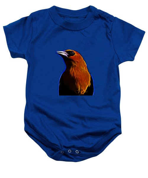 Yellow Headed Blackbird Baby Onesie