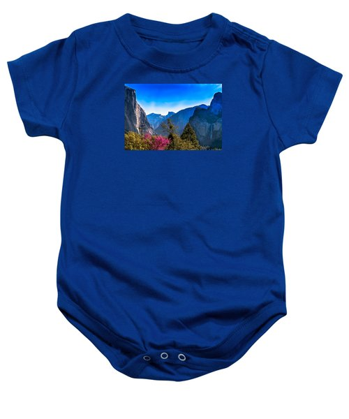 Yosemite Valley Baby Onesie