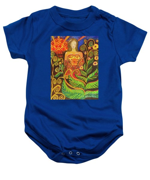 Zen Morning Baby Onesie