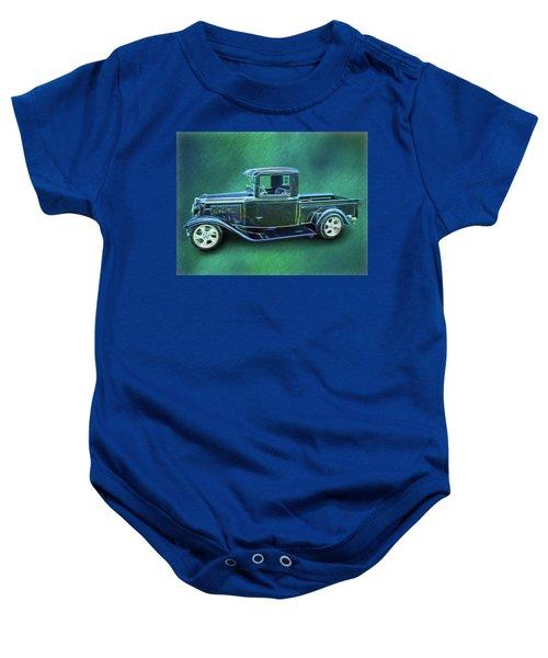 1934 Ford Pickup Baby Onesie