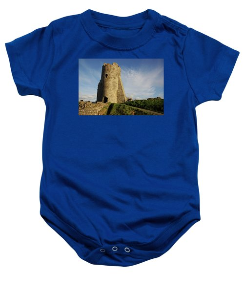 Aberystwyth. The Castle Gatehouse. Baby Onesie