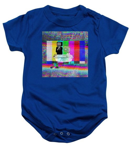 Abusive Screens Baby Onesie
