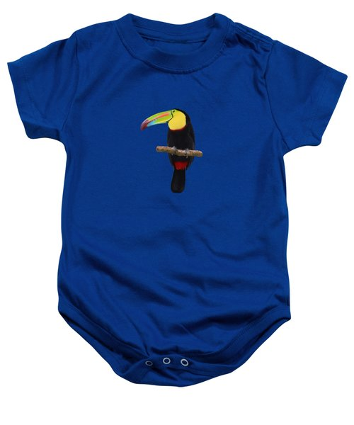 Keel-billed Toucan Costa Rica Baby Onesie