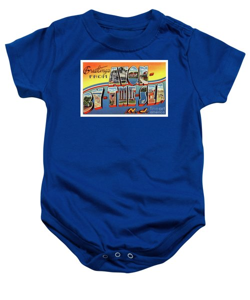 Avon-by-the-sea Greetings Baby Onesie