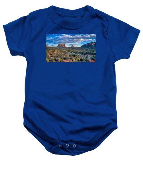 Bell Rock Scenic View Sedona Baby Onesie