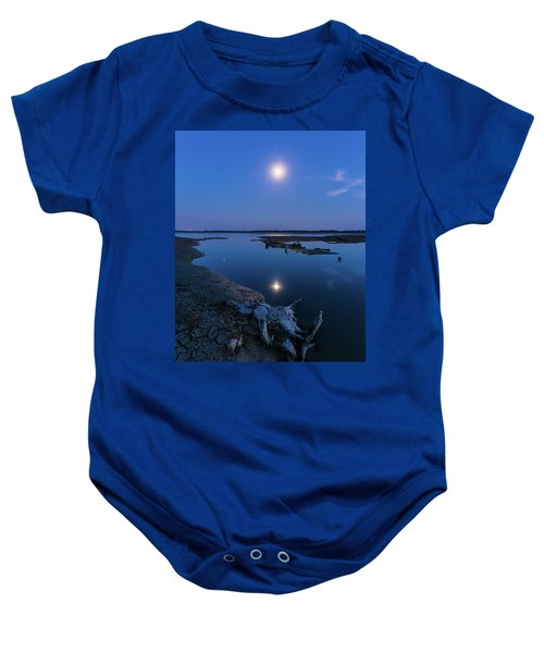 Blue Moonlight Baby Onesie