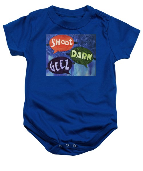 Colorful Language Baby Onesie
