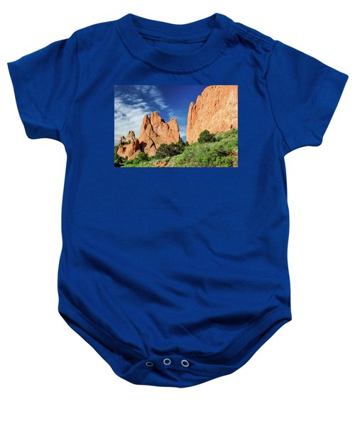 Garden Of The Gods Baby Onesie