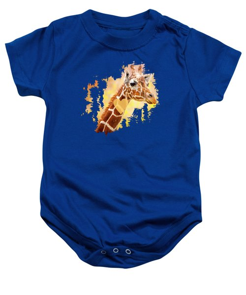 Giraffe, Animal Decor, Nursery Decor,  Baby Onesie