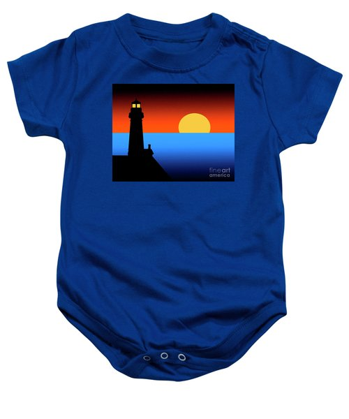 Guardian Lighthouse Baby Onesie