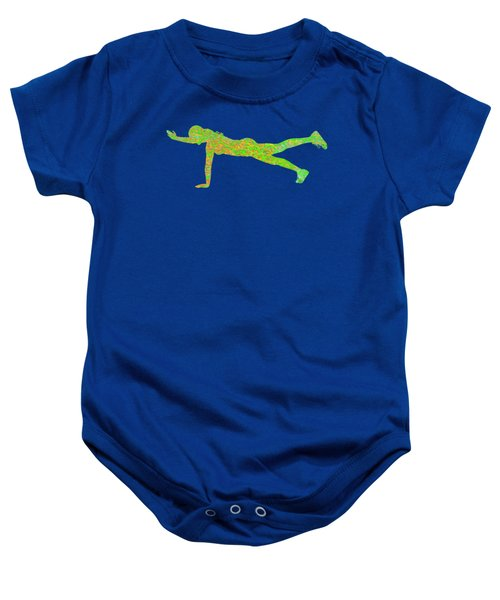 Gym Art 1 Baby Onesie