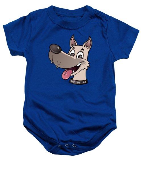 Happy Dog Baby Onesie