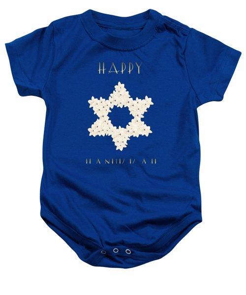 Happy Hanukkah  Baby Onesie