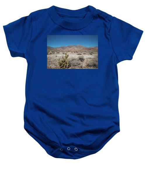 High Desert Cactus Baby Onesie
