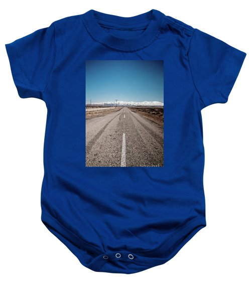 infinit road in Turkish landscapes Baby Onesie