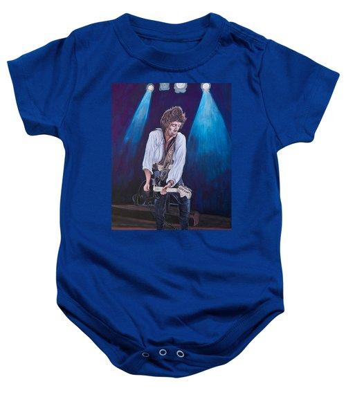 Keith Richards Baby Onesie