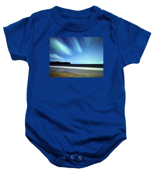 Linear Clouds Over Mayaro Baby Onesie