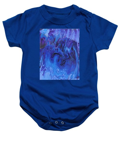 Living Water Abstract Baby Onesie