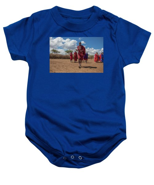 Maasai Welcome Baby Onesie