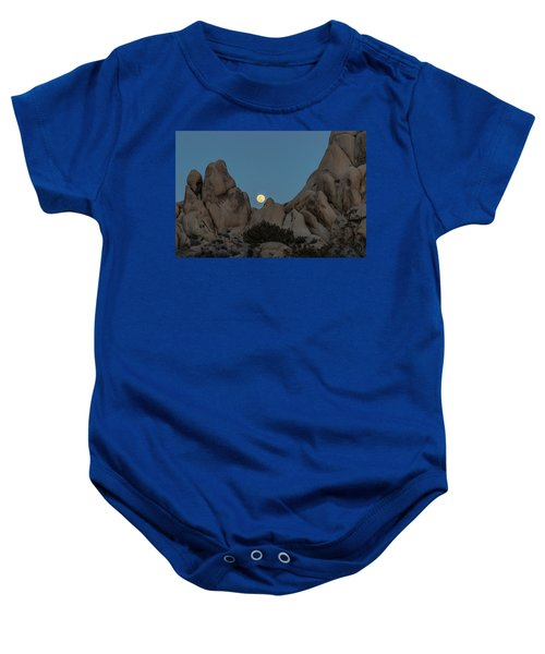 Moonrise In The Sight Baby Onesie