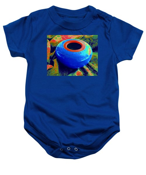 My Blue Bowl -  The  Gift Baby Onesie