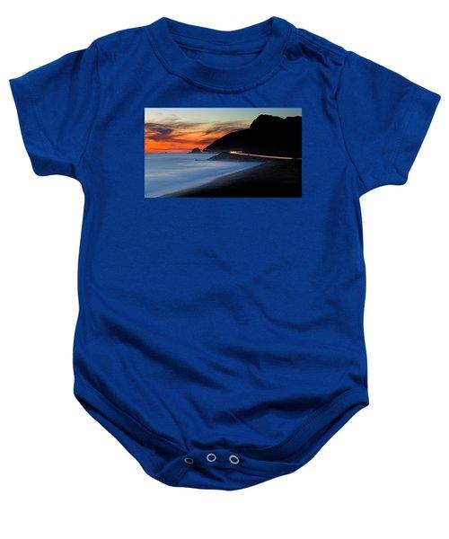 Pacific Coast Highway Baby Onesie