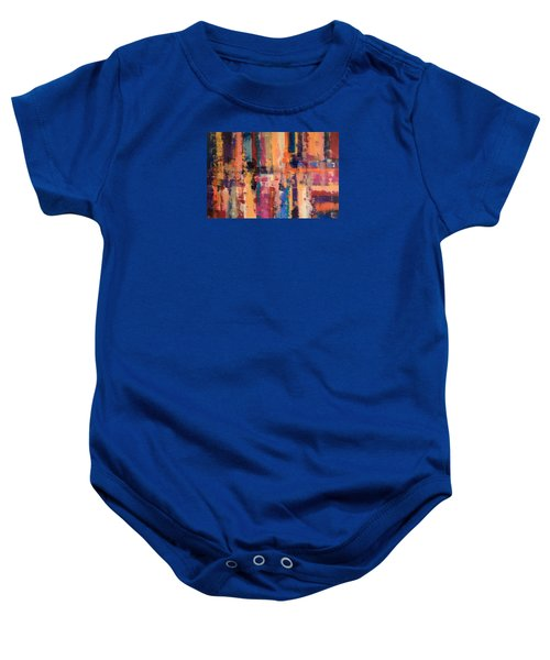 Playful Colors Iv Baby Onesie