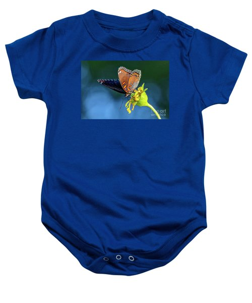 Red-spotted Purple Butterfly Baby Onesie