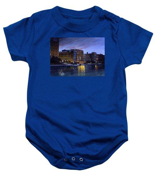 Riverwalk Nocturne Baby Onesie