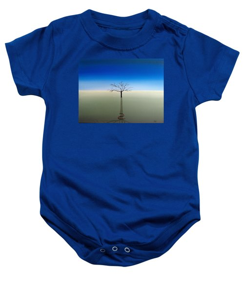 Shadow Of Asclepius Baby Onesie