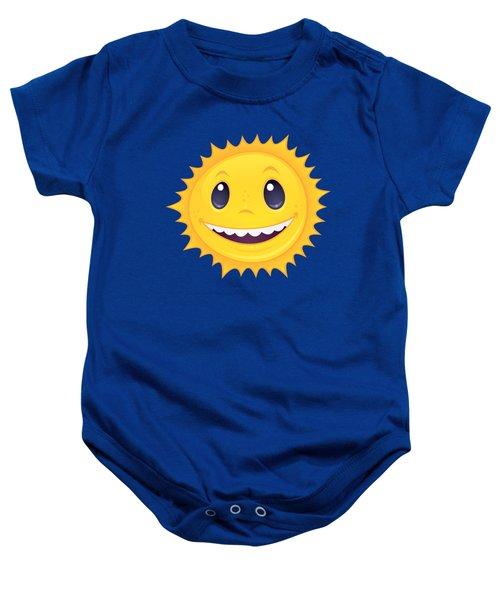 Smiley Sun Baby Onesie